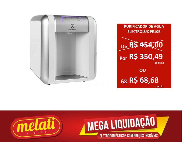 SALDÃO PURIFICADOR DE ÁGUA ELECTROLUX PE10B ========================================== CLASSIFICAÇÃO DO PRODUTO SALDO => https://www.melatieletro.com.br/pagina/nossos-produtos.html  ==========================================  📌 ❶ A͟͟N͟͟O͟͟ D͟͟E͟͟ G͟͟A͟͟R͟͟A͟͟NT͟͟I͟͟A͟͟ CONTRA DEFEITO FUNCIONAL  ==========================================  🚛 F͟͟R͟͟E͟͟T͟͟E͟͟ G͟͟R͟͟A͟͟T͟͟I͟͟S͟͟ consulte as regras do frete grátis ==========================================  📍ENDEREÇO DA LOJA   RUA INGÁ , 247…