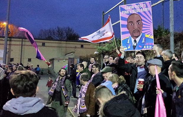 Dulwich Hamlet put on the style in 1-1 FA Vase draw with Concord Rangers