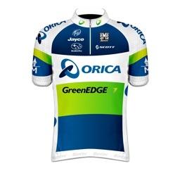 Team Orica-GreenEDGE  www.greenedgecycling.com