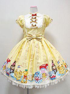 Angelic Pretty Honey Cake OP Yellow $350