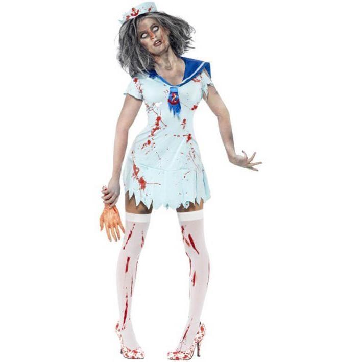 Disfraz de marinerita zombie para mujer