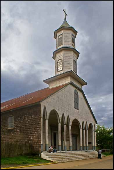 Iglesias de madera de Isla de  Chiloé , Chile
