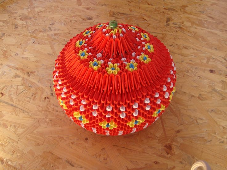 3D origami jewellery box tutorial