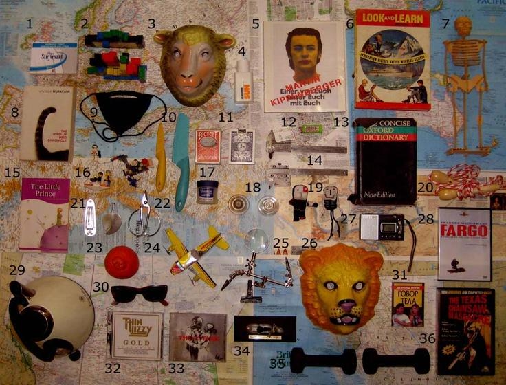 Inspiration board by Maja Maljevic