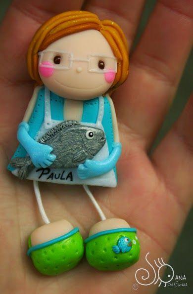 Mundo das Bonecas * Joana da Cunha: Boneca Peixeira :)