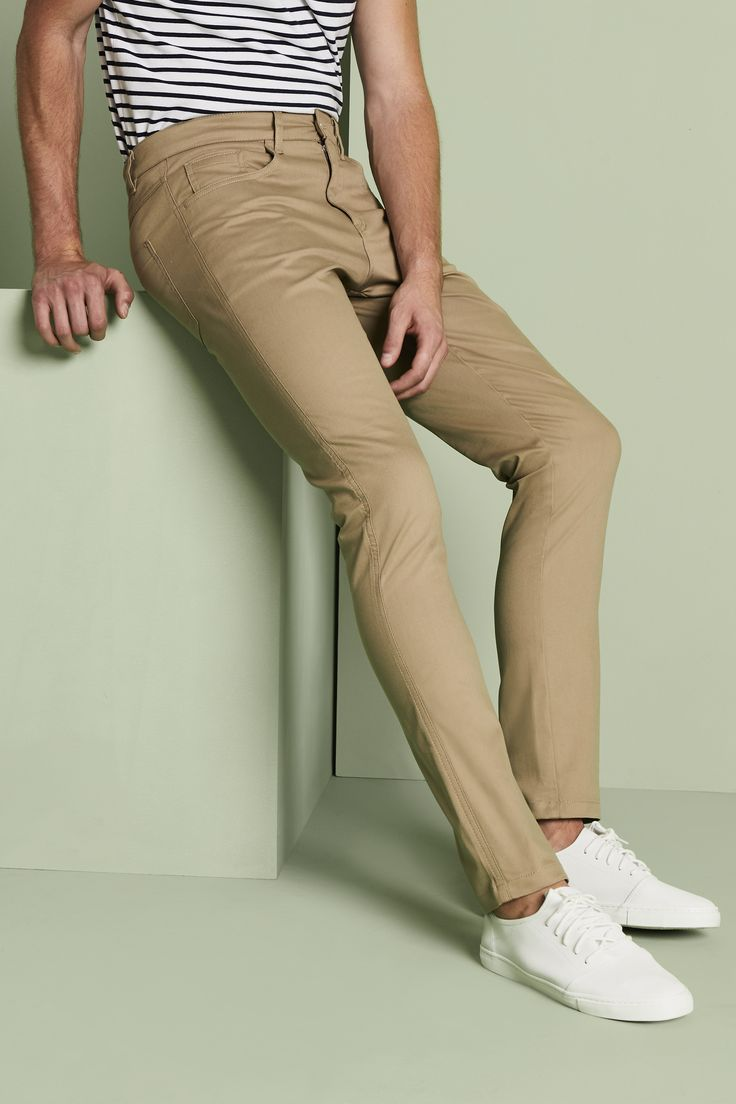 Cock up trouser leg nude