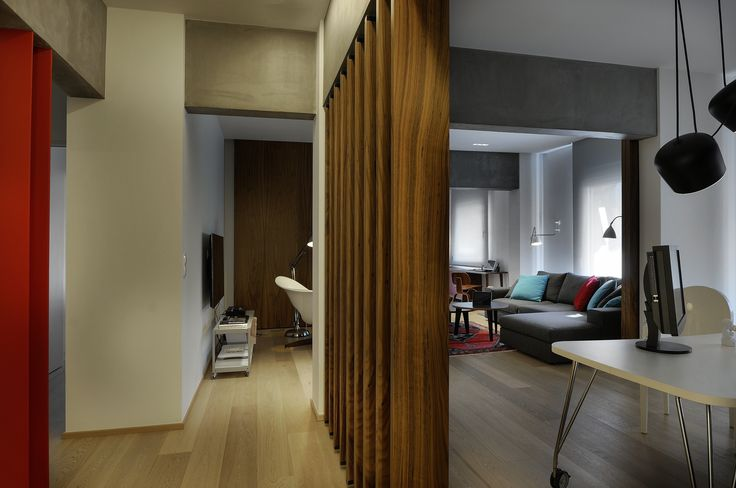 Apartment in Thessaloniki by Minas Kosmidis - Architecture In Concept #ArchitectureInConcept #MinasKosmidis