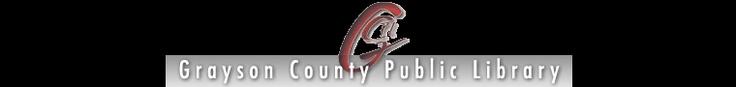 Grayson County Public Library - online catalog