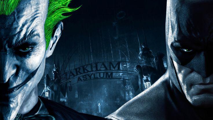 joker, gate, batman arkham asylum