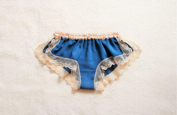 Turquoise Blue Chiffon Sleep Boxer/style HISUI (made to order)
