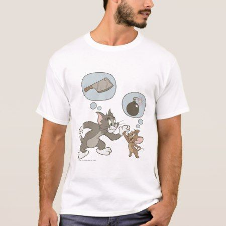 Tom and Jerry Evil Thoughts T-Shirt - click/tap to personalize and buy