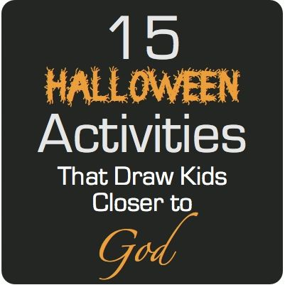 ideas for a christian halloween celebration with your children - Where Does The Halloween Celebration Come From