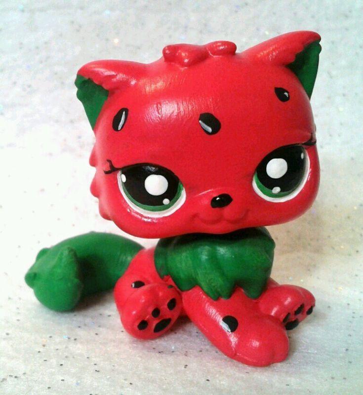 Wacky Watermelon OOAK Custom Littlest Pet Shop | eBay