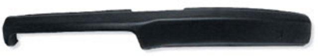 DASH PAD, 68 NOVA WITH OUT AIR CONDITIONING - BLACK  Camaro Parts/Chevelle Parts/El Camino Parts/Nova Parts/67-72 Chevrolet Truck Parts/Steering Column/Accessories/Automotive/Restoration/Used Parts/Consignment Muscle Cars/Rancho Cordova/916.638.3906