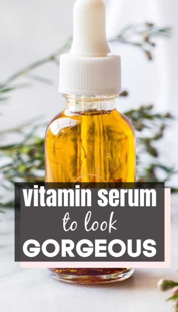 Want to look Gorgeous and glowing always? Treat your skin Vitamin serum