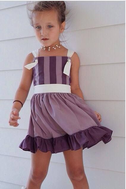 Well Dressed Wolf grape grommet dress