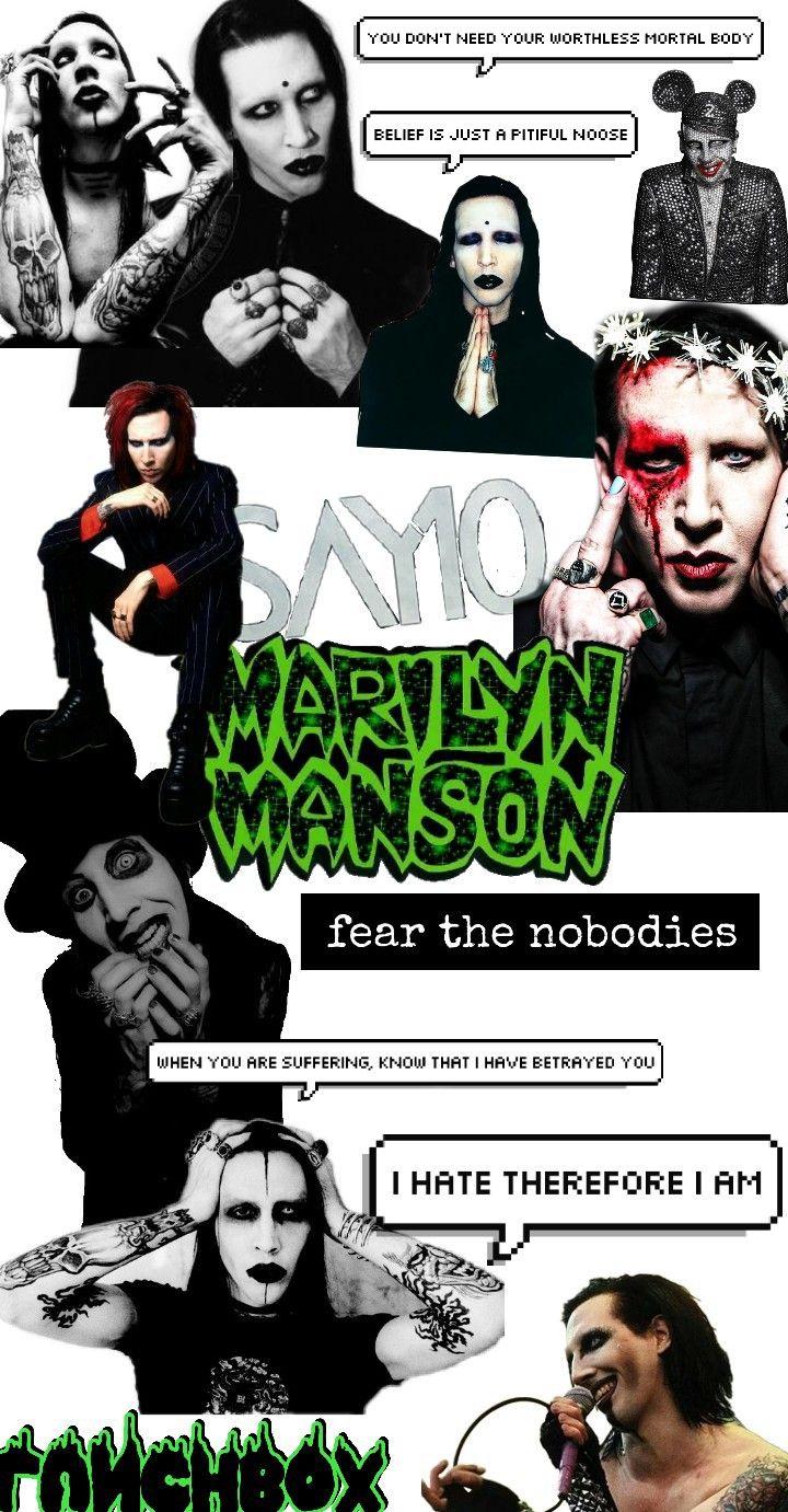 I Love Marilyn Manson Marilyn Manson Marilyn Manson