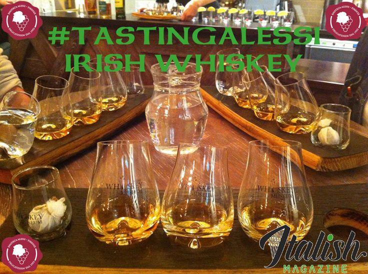 #tastingalessi L'Oro d'Irlanda: degustazione Irish whiskey  http://www.enotecaalessi.it/it/articoli/tastingalessi-ireland-s-gold-irish-whiskey-session