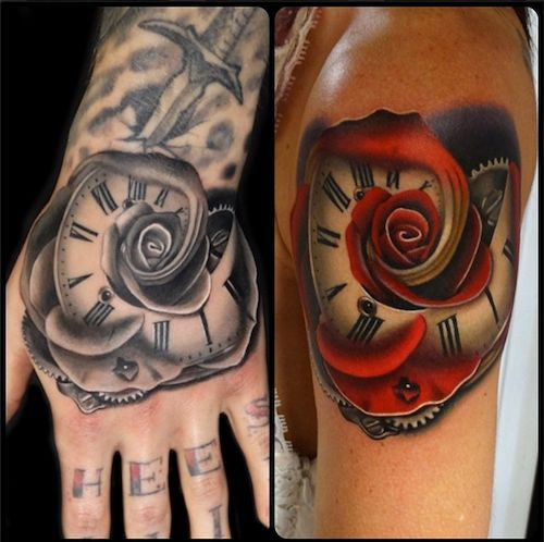 Morphed Roses by Andres Acosta - Inked Magazine