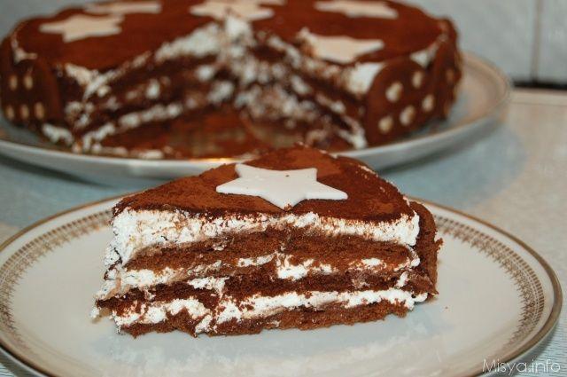 La torta Pan di stelle è un  dolce supergoloso composto da un'alternanza di strati di biscotti Pan di stelle imbevuti nel latte, nutella e panna montata,una