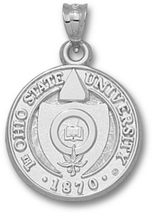 28 best ohio state pendants images on pinterest ohio state ohio state buckeyes seal pendant sterling silver jewelry aloadofball Gallery