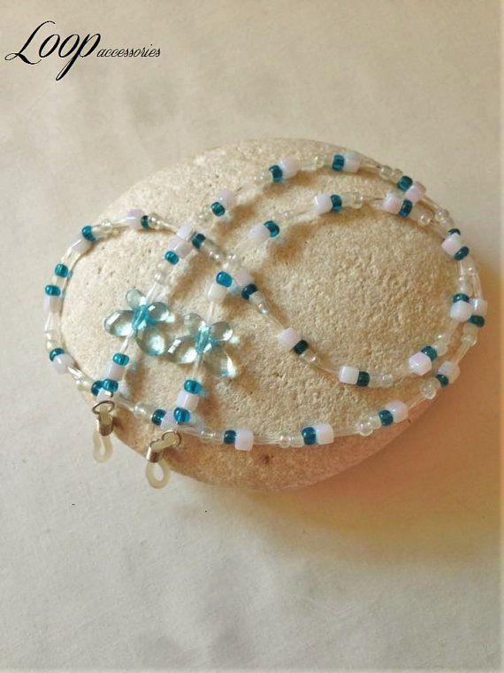 BLUE BUTTERFLIES   Beaded Butterfly by LoopAccessoriesShop on Etsy