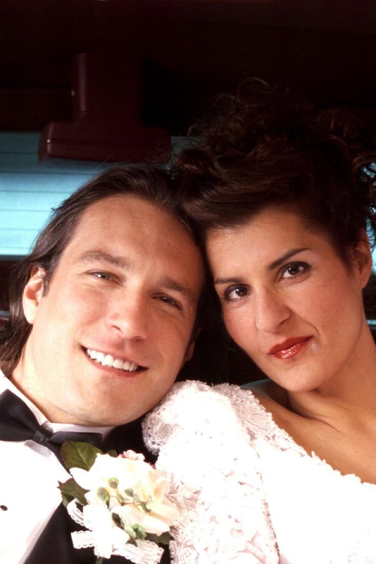 JOHN CORBETT  NIA VARDALOS  2002    My Big Fat GREEK WEDDING
