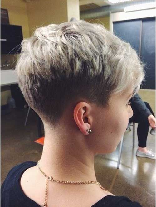 Short Shaved Pixie 2015                                                       …