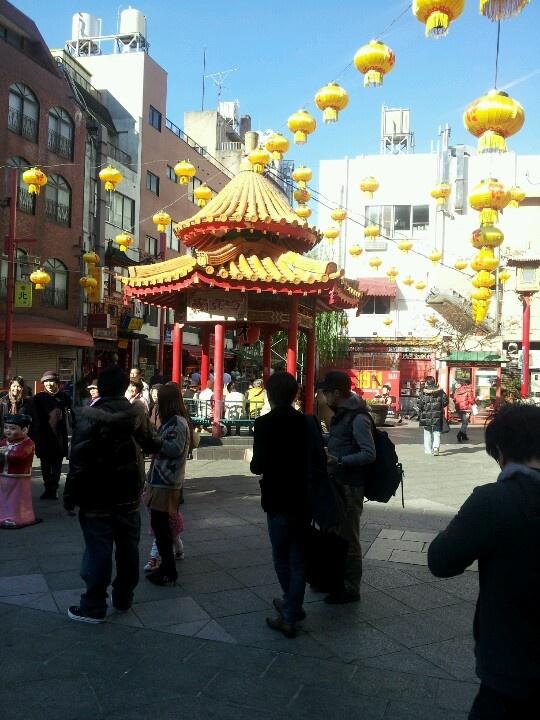 神戸市中央区 南京町の広場