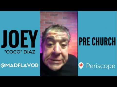 The Church Of What's Happening Now Pre Show: #418 - Joey Diaz and Lee Syatt