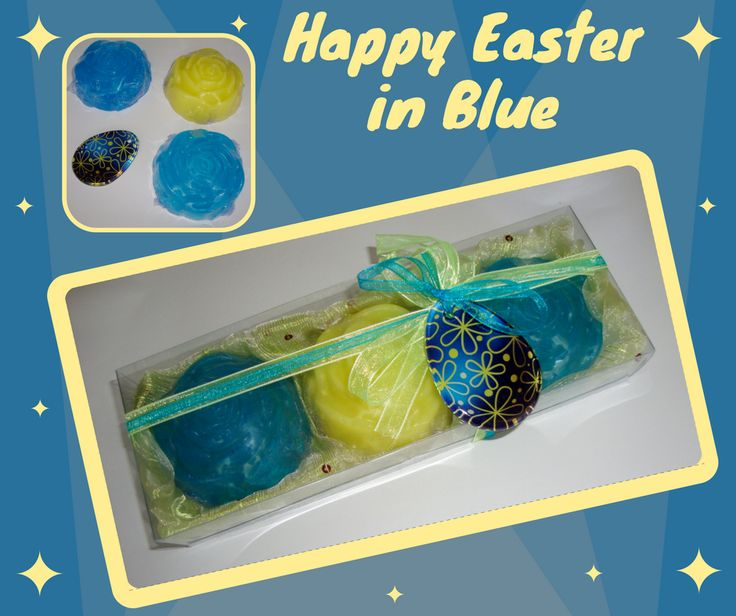 Whether you're looking for gift ideas for friends or relatives you haven't seen in a while, a beloved one or even something special for yourself, this is a gift that everyone will love! An interesting Easter Hostess or Party Gift, containing 3 Luxury Floral Scented Soaps and a special handmade glass decorative Golden Dark Blue Easter Egg in the packaging. The glass decorative Easter Egg, can also be used as Necklace or Easter ornament. A gift unique as the unique Greek Easter!