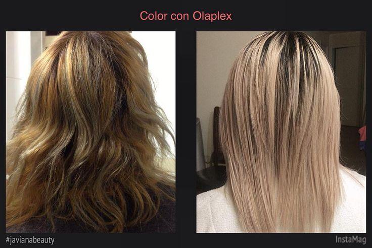 Barrido de color, decoloración , tinte de raíces oscuras y color con @olaplex  #javianabeauty #instagramchile #olaplexvalparaiso #olaplexhair #hairblonde