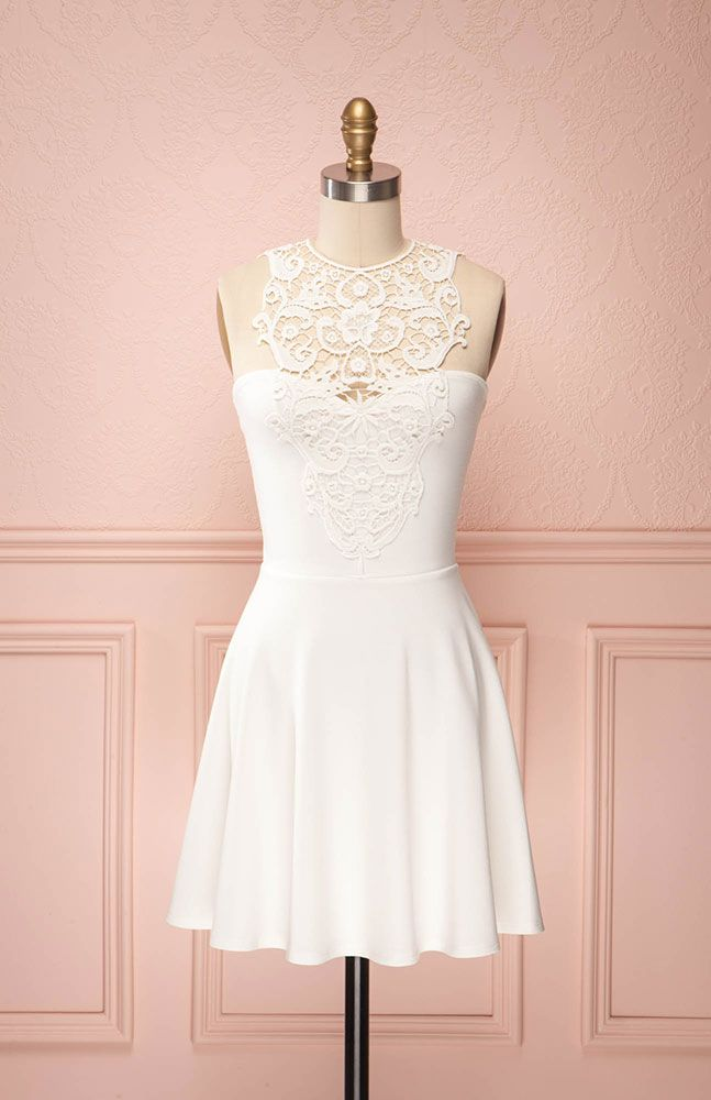 lace and simplicity.. reception dress