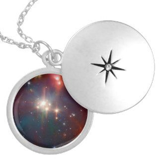 Hubble space telescope Coronet Cluster jewelry necklace