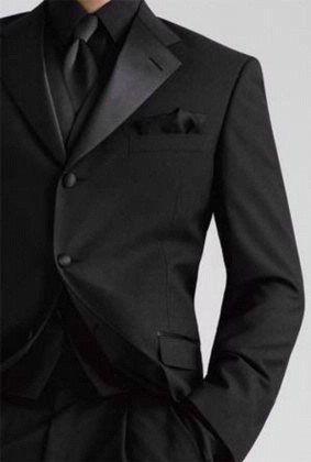 Best 25  Groomsmen attire black ideas on Pinterest | Black tuxedo ...