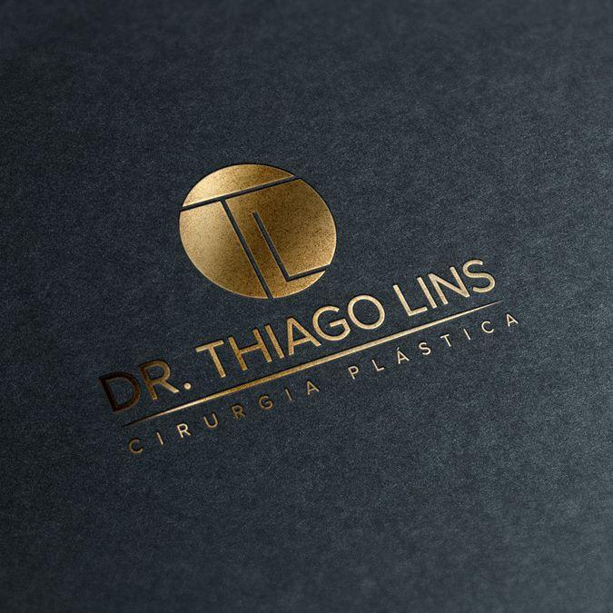 crie uma identidade visual para Dr.Thiago Lins cirurgiao plastico by Bruno Nascimento