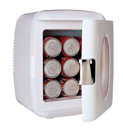 Desktop Refrigerator 9 Can Mini-Mobile Fridge w/ 12V DC plug