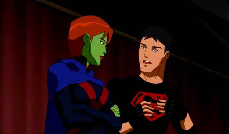 Season 2 Episode 20 Endgame: Miss Martian & Superboy | YJ ...