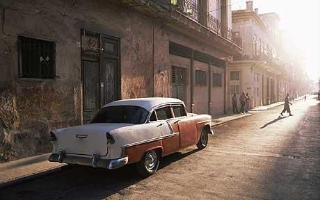 Cuba: Journey to the provincial heart  Lydia Bell sets out on a road trip, accompanied by her husband, assorted hitchhikers and a pig.