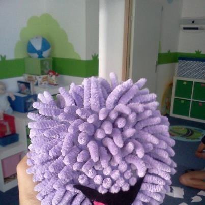 A very creative Helen Doron Early English teacher from Ravnice, Croatia made this Flupe doll!