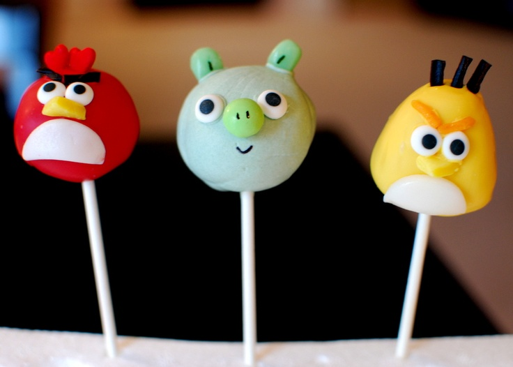 Behold Angry Birds Birthday Cake Video