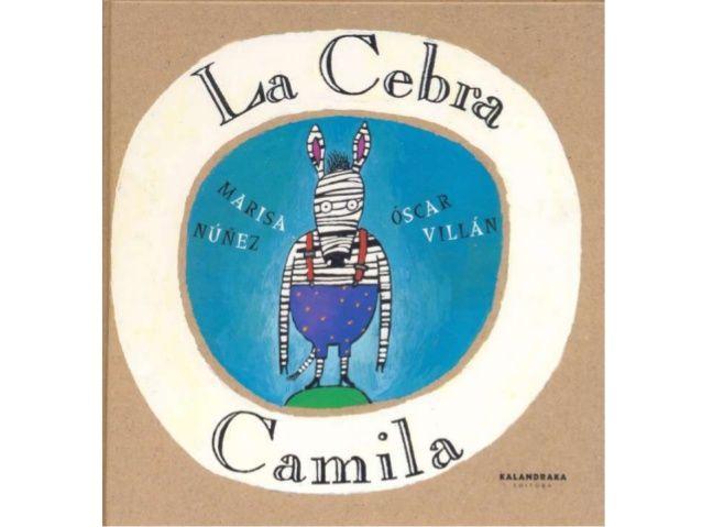 La cebra Camila by Leer Contigo via slideshare