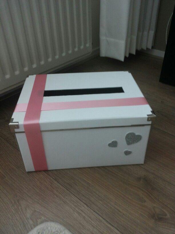 Enveloppen doos - simpel en leuk. Te maken zoals je zelf wil.