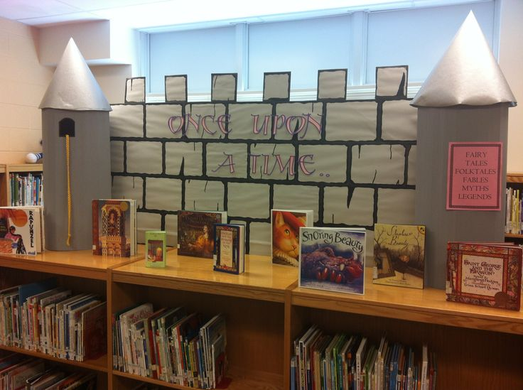 This library Fairytale background would work for a princess party or general fairytale party theme as well.