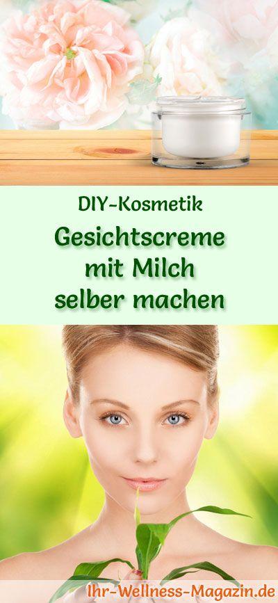 Gesichtscreme selber machen: So können Sie eine Gesichtsceme mit Milch selber machen, probieren Sie das folgende Rezept mit Anleitung ...