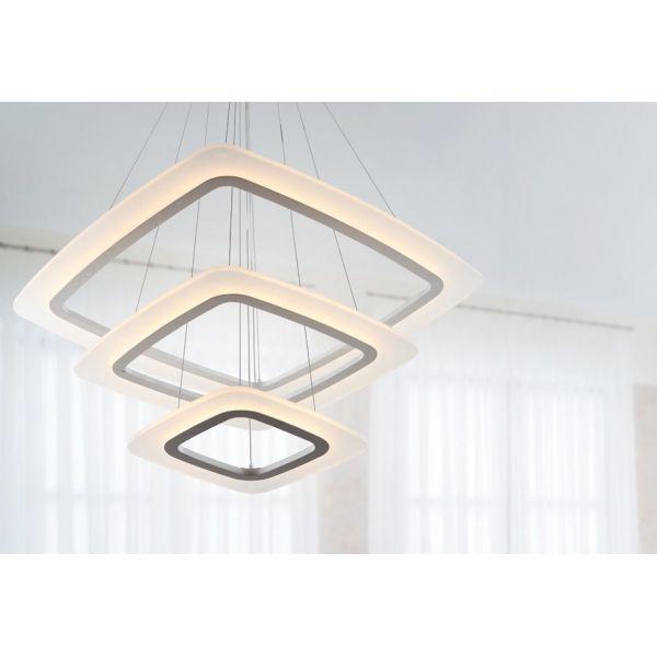 LAMPA wisząca OTIS Maxlight P0123 biały szary - MLAMP.pl
