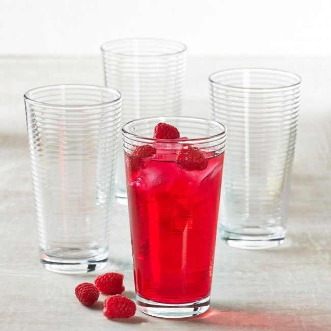 """Check out these beautiful """"Rondo Cooler"""" Glasses from Pasabahce."""