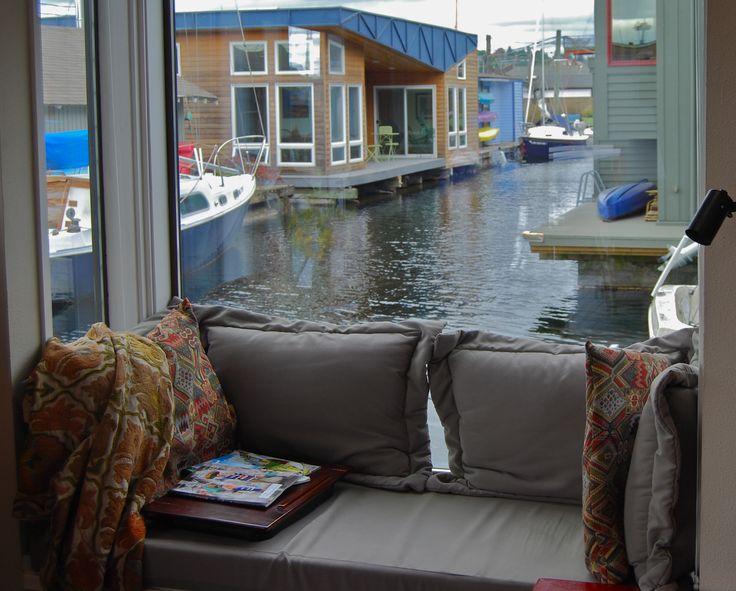 Houseboat Window Seat