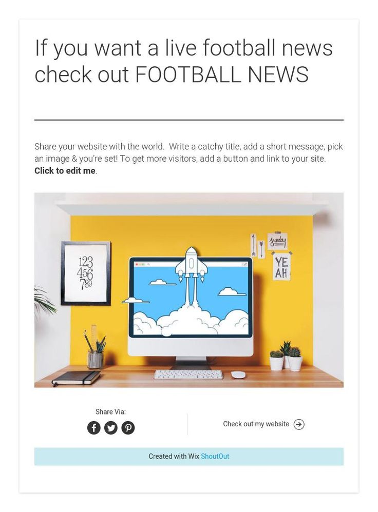 If you want a live football news check out FOOTBALL NEWS