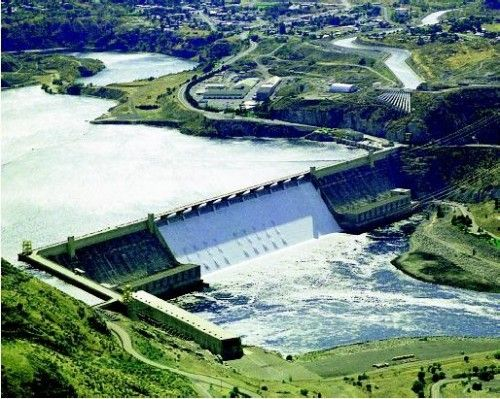 Grand Coulee Dam, WA